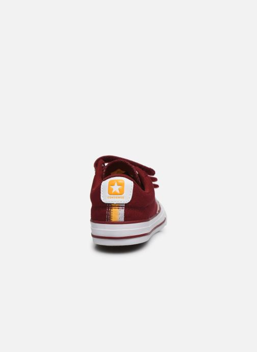 Baskets Converse Star Player 3V Ox Rouge vue droite