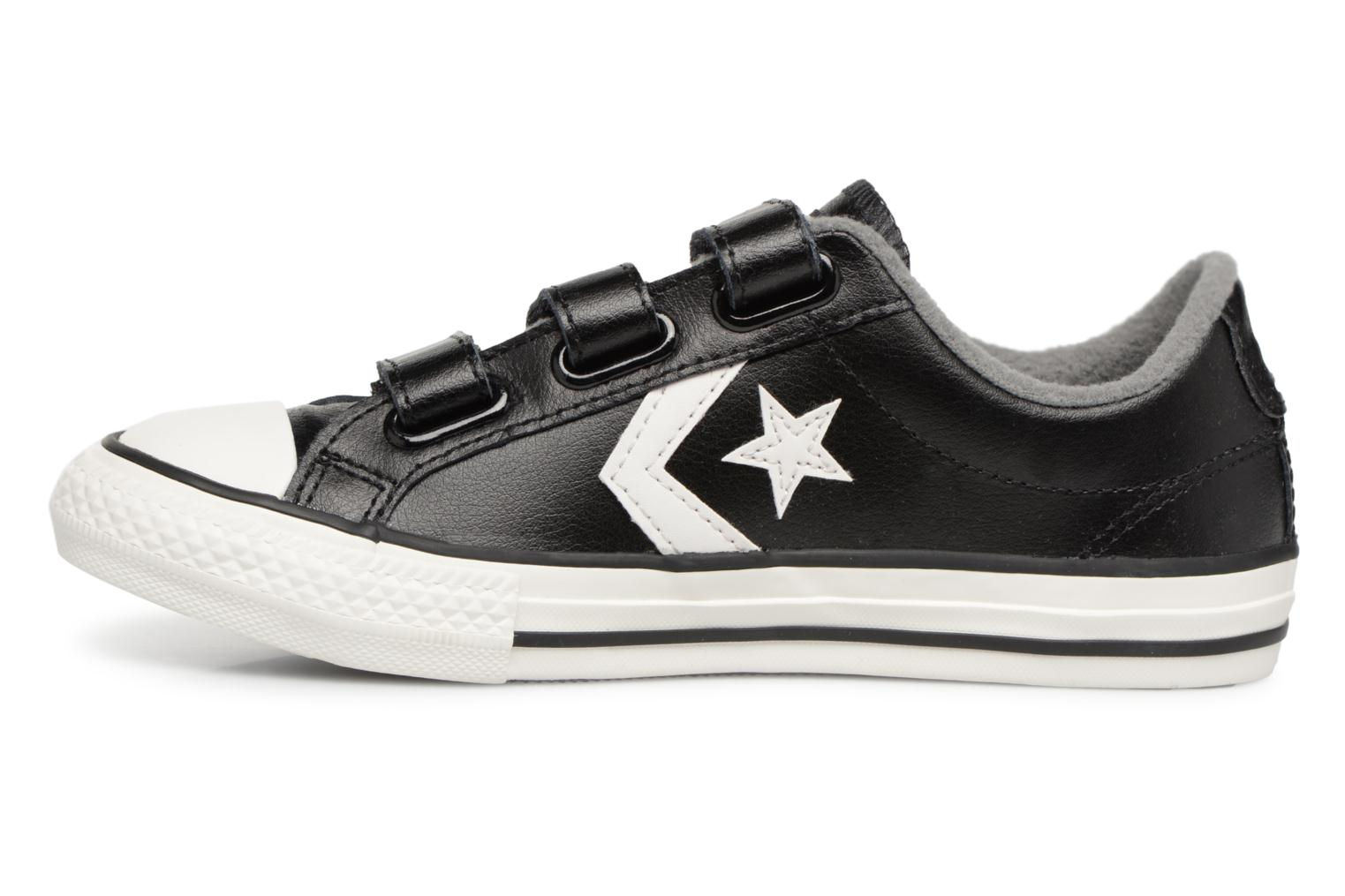 Sneakers Converse Star Player 3V Ox Nero immagine frontale