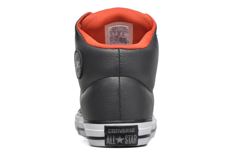 Sneakers Converse Chuck Taylor All Star High Street Hi Grå Se fra højre