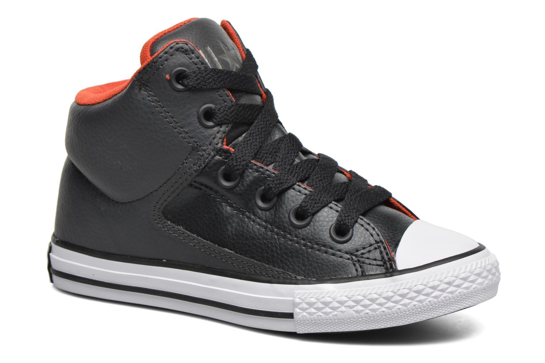 Sneakers Converse Chuck Taylor All Star High Street Hi Grå detaljeret billede af skoene