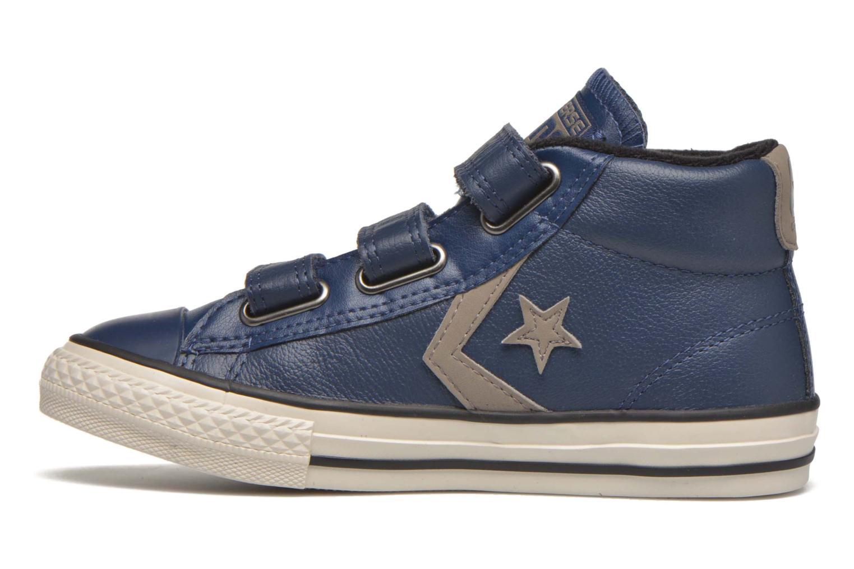 Sneakers Converse Star Player 3V Mid Blå bild från framsidan