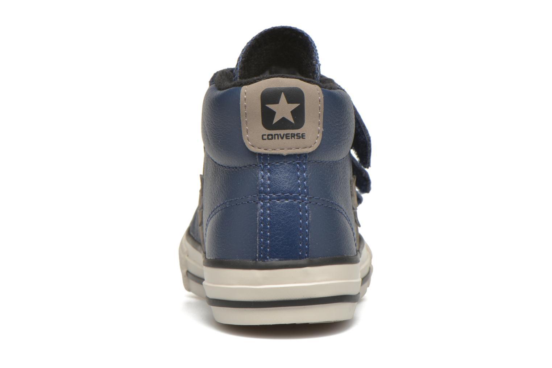 Sneakers Converse Star Player 3V Mid Blå Bild från höger sidan