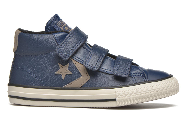 Sneakers Converse Star Player 3V Mid Blå bild från baksidan