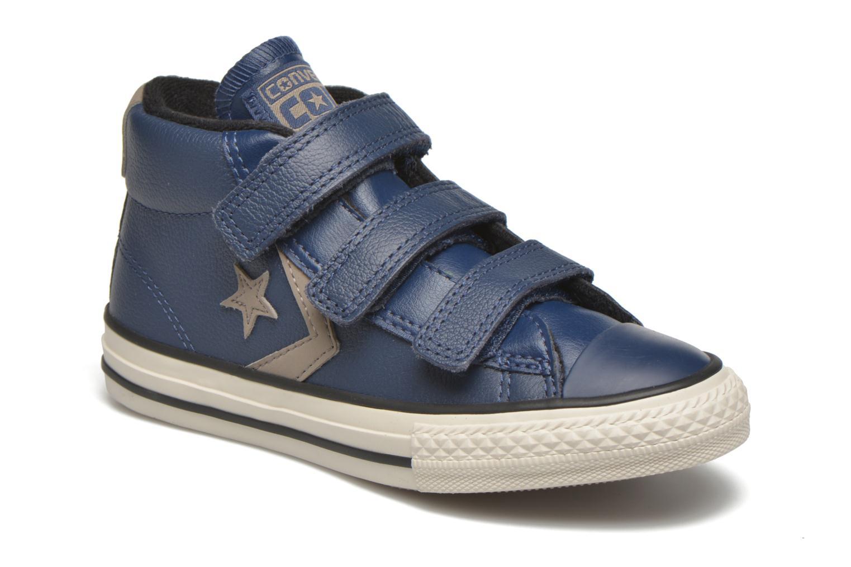 Sneakers Converse Star Player 3V Mid Blå detaljerad bild på paret