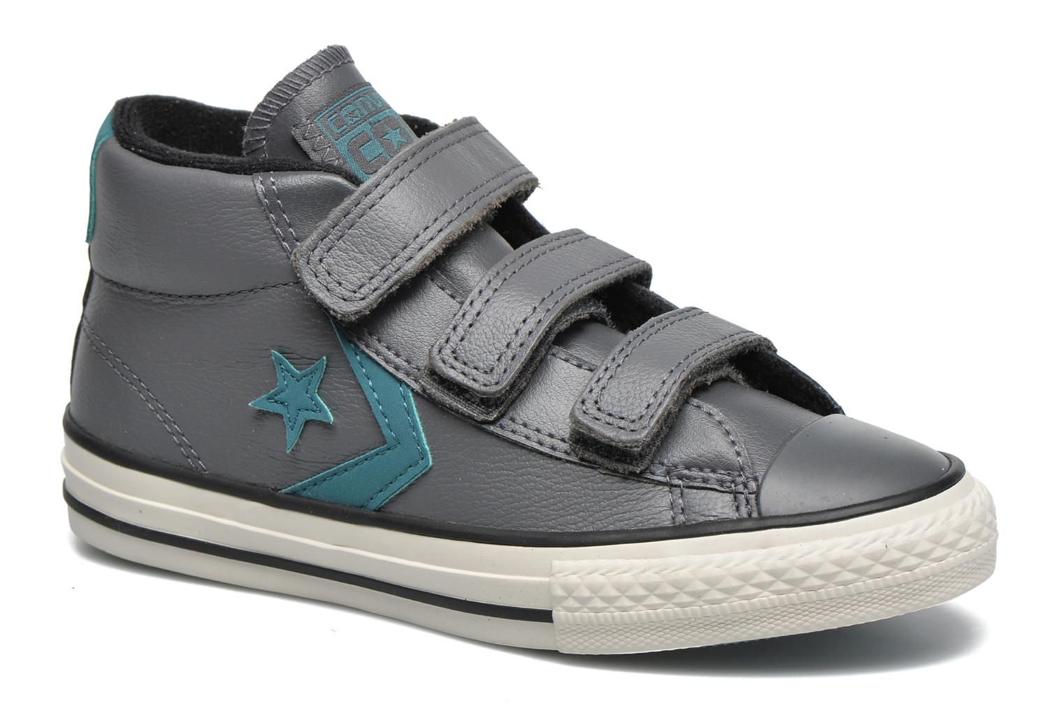 Baskets Converse Star Player 3V Mid Gris vue détail/paire