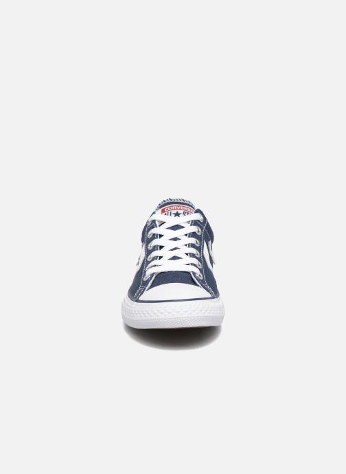 Sneaker Converse Star Player Ev Ox blau schuhe getragen