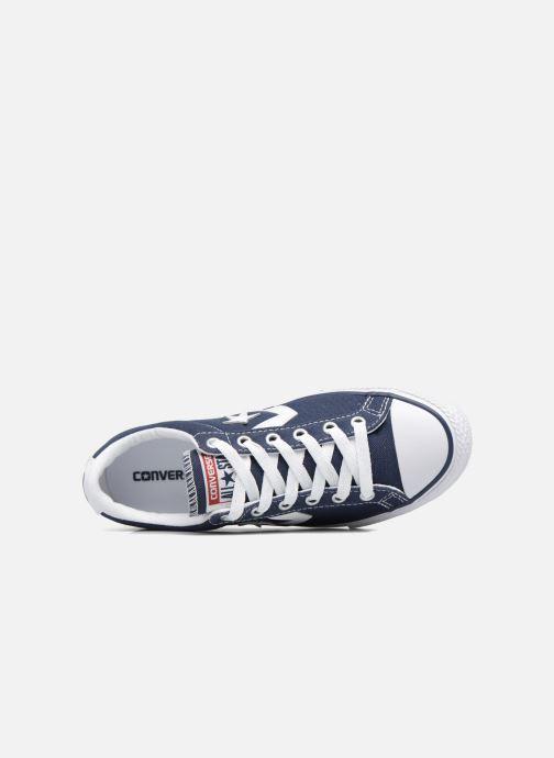 Sneaker Converse Star Player Ev Ox blau ansicht von links