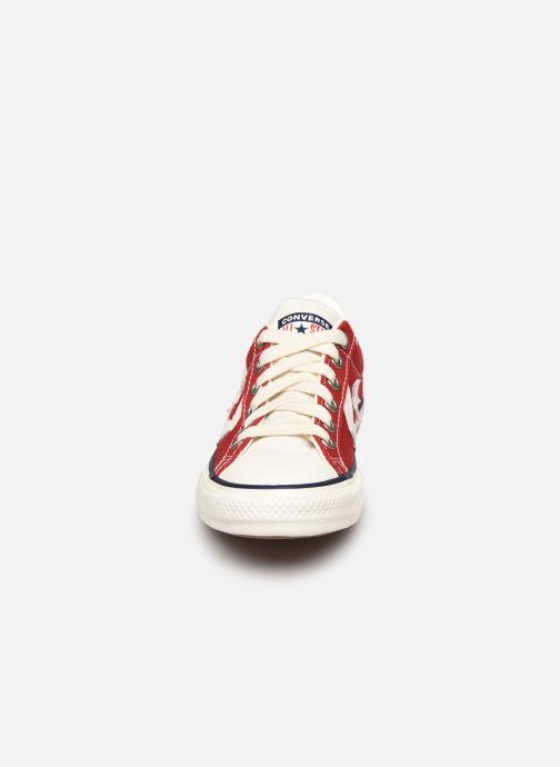 Baskets Converse Star Player Ev Ox Rouge vue portées chaussures