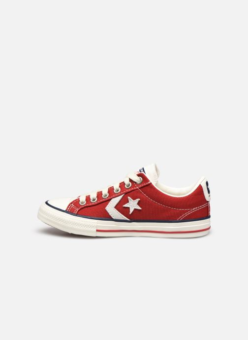 Baskets Converse Star Player Ev Ox Rouge vue face
