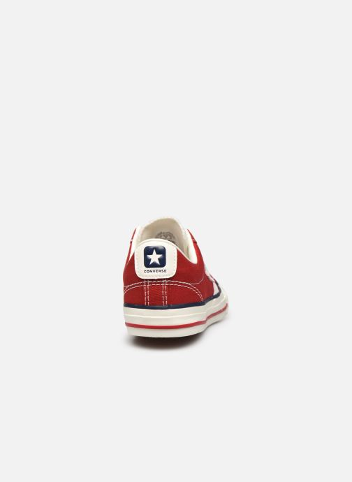 Baskets Converse Star Player Ev Ox Rouge vue droite