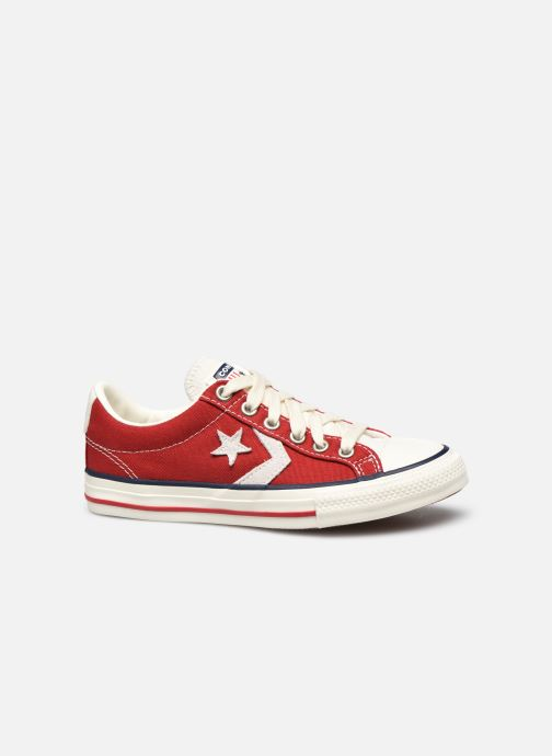 Baskets Converse Star Player Ev Ox Rouge vue derrière