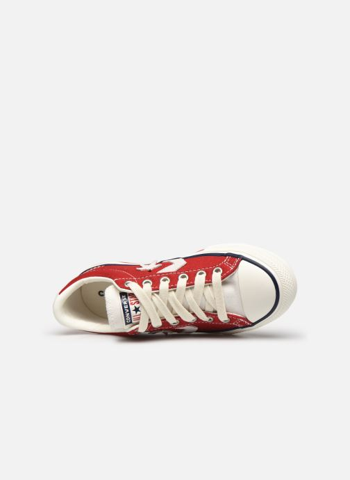 Baskets Converse Star Player Ev Ox Rouge vue gauche