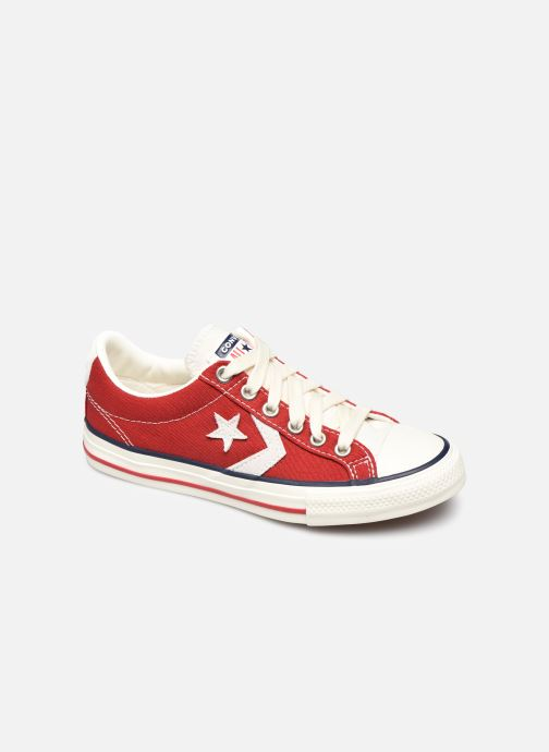 Baskets Converse Star Player Ev Ox Rouge vue détail/paire