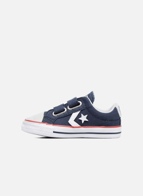 Baskets Converse Star Player 2V Ox Bleu vue face