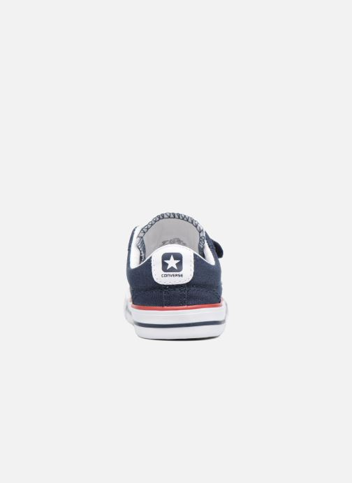 Sneakers Converse Star Player 2V Ox Blauw rechts