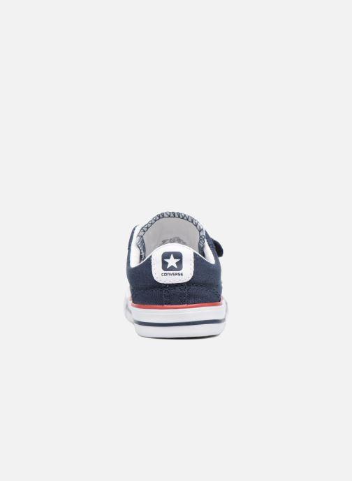 Sneaker Converse Star Player 2V Ox blau ansicht von rechts