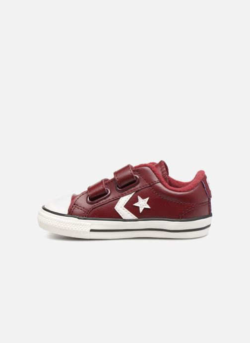 Sneakers Converse Star Player 2V Ox Bordeaux voorkant