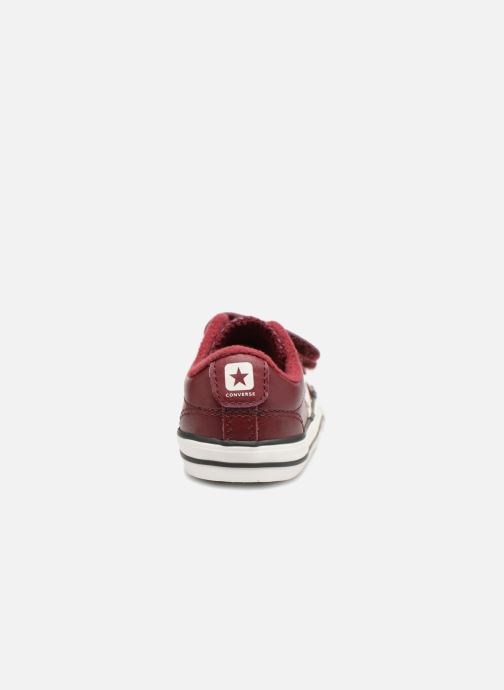 Sneakers Converse Star Player 2V Ox Bordeaux rechts