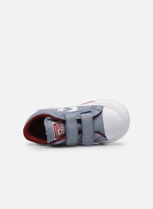 Sneaker Converse Star Player 2V Ox blau ansicht von links