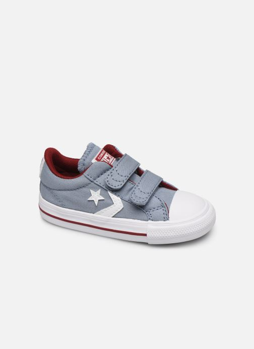 Trainers Converse Star Player 2V Ox Blue detailed view/ Pair view