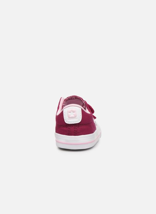 Baskets Converse Star Player 2V Ox Rose vue droite