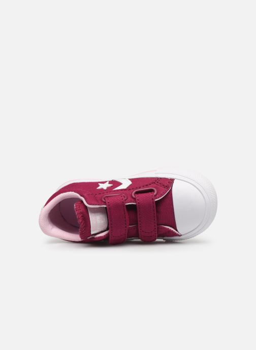 Baskets Converse Star Player 2V Ox Rose vue gauche