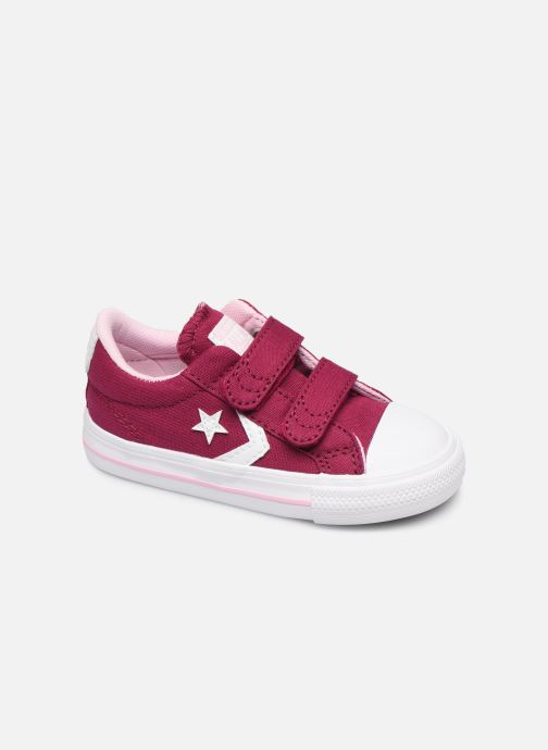 Baskets Converse Star Player 2V Ox Rose vue détail/paire