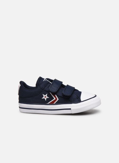 Trainers Converse Star Player 2V Ox Blue back view