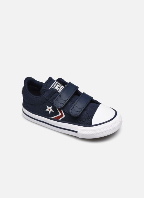 Sneakers Converse Star Player 2V Ox Blauw detail