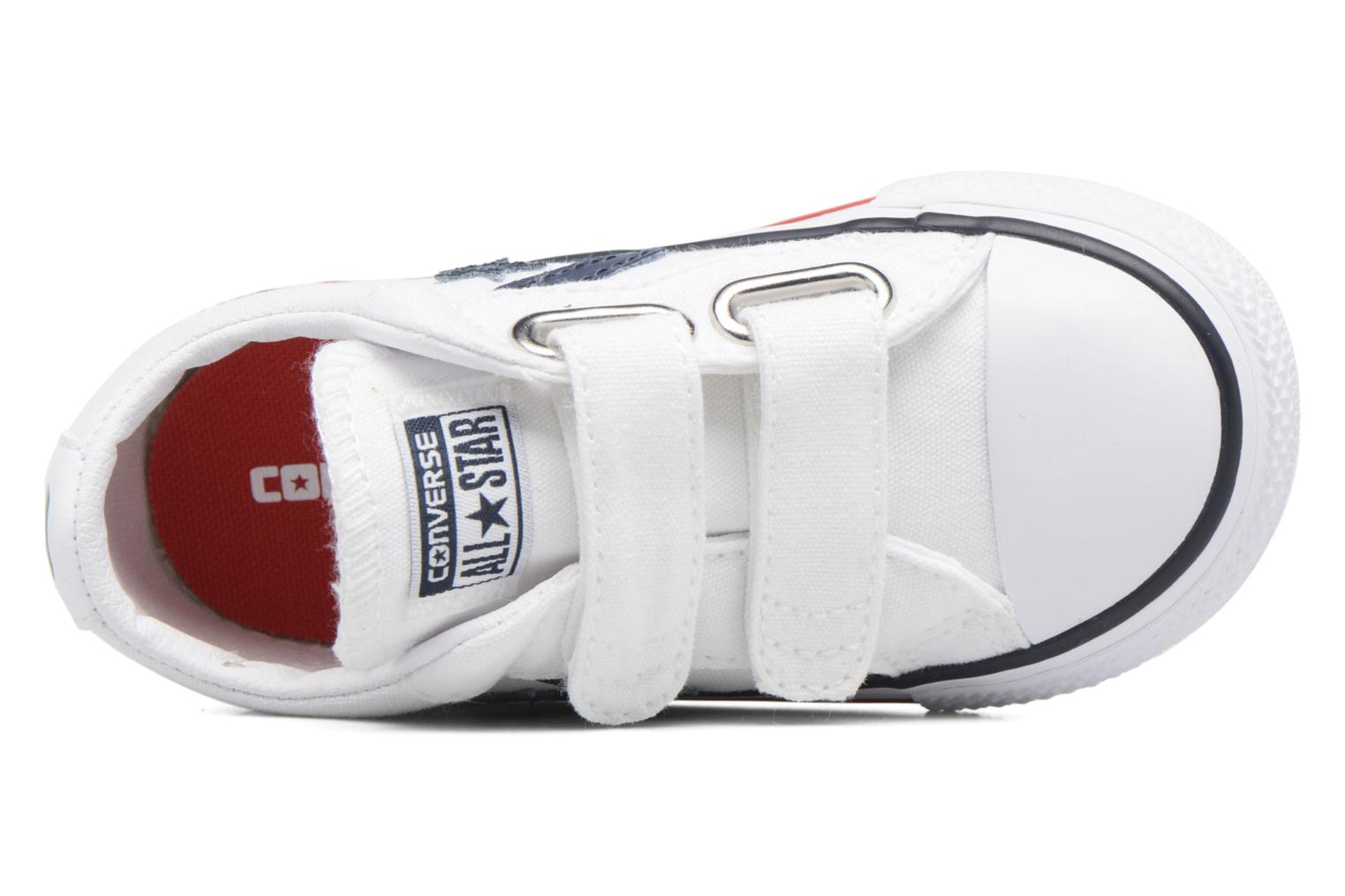 Trainers Converse Star Player 2V Ox White view from the left