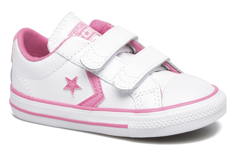 Sneakers Converse Star Player 2V Ox Vit detaljerad bild på paret