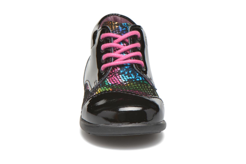 Chaussures à lacets Mod8 Lou Noir vue portées chaussures