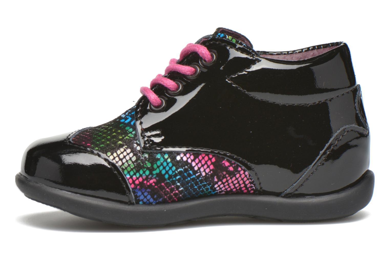 Chaussures à lacets Mod8 Lou Noir vue face