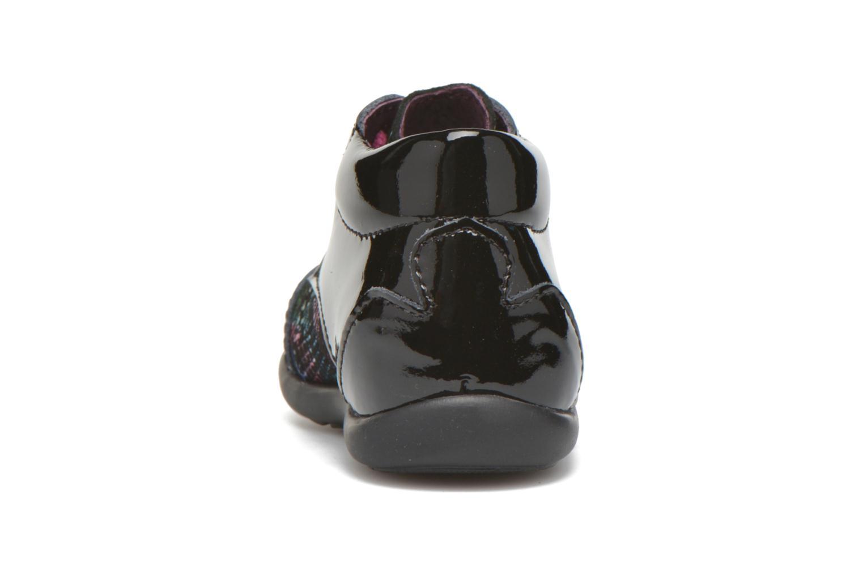Chaussures à lacets Mod8 Lou Noir vue droite