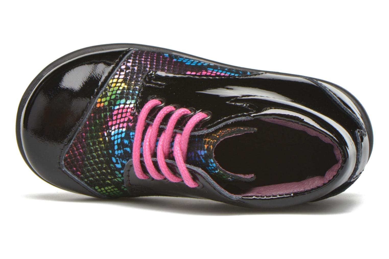 Chaussures à lacets Mod8 Lou Noir vue gauche