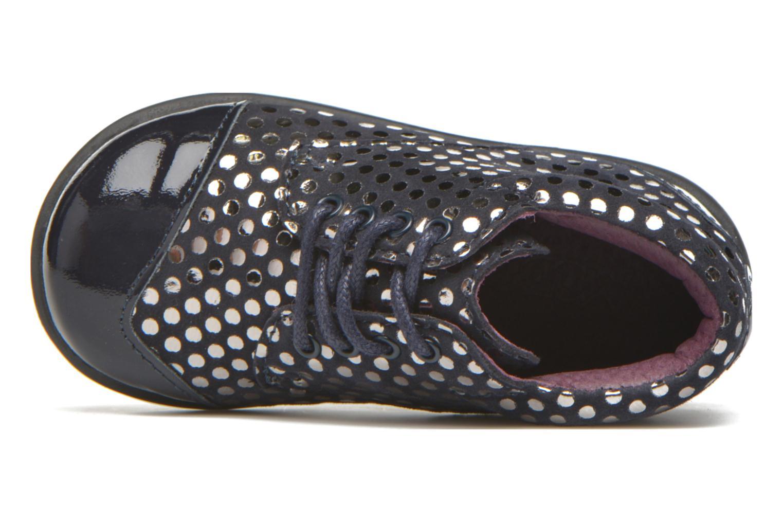 Chaussures à lacets Mod8 Lou Bleu vue gauche