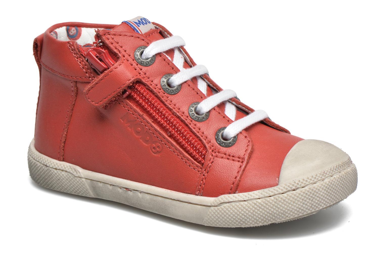 Baskets Mod8 Kolt Rouge vue détail/paire