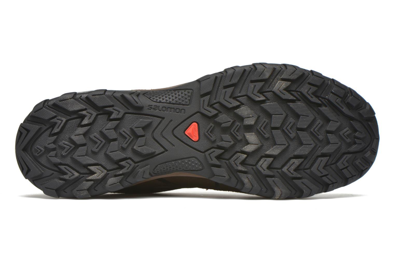 Chaussures de sport Salomon Evasion GTX Marron vue haut