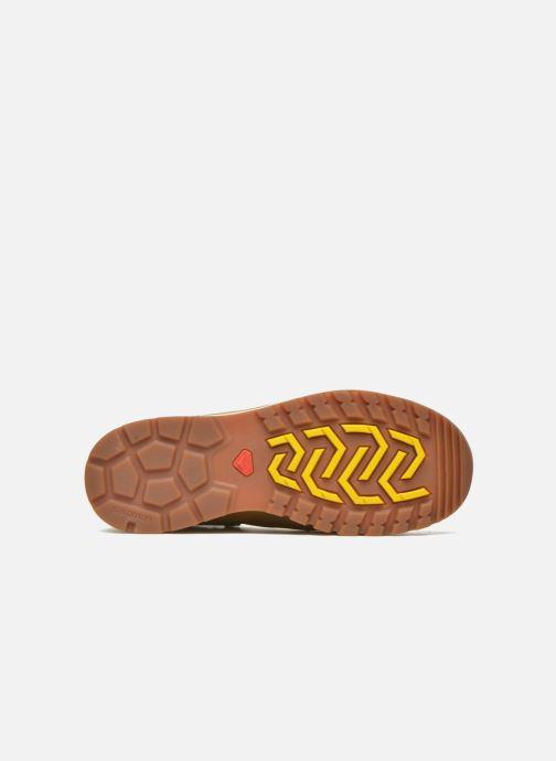 Chaussures de sport Salomon Utility Pro TS CSWP Jaune vue haut