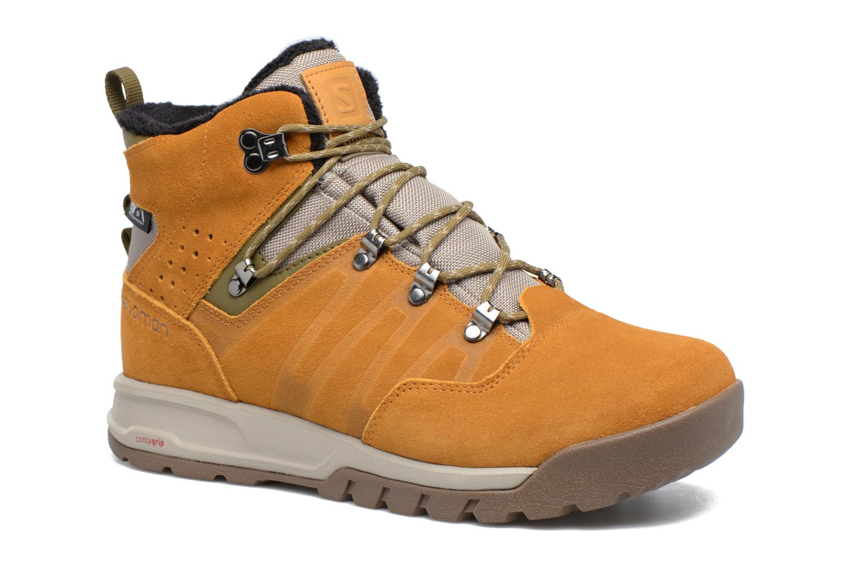 Zapatillas de deporte Salomon Utility TS CSWP Marrón vista de detalle / par
