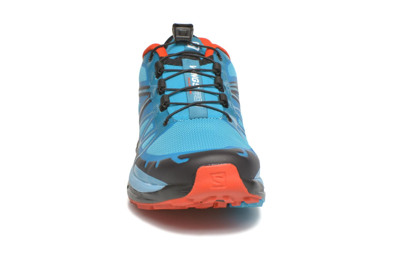 Chaussures de sport Salomon Wings Pro 2 W Bleu vue portées chaussures