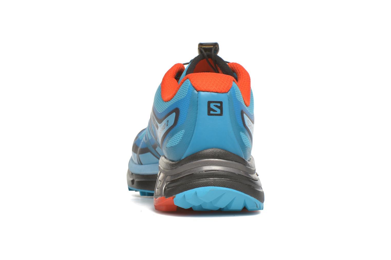 Chaussures de sport Salomon Wings Pro 2 W Bleu vue droite
