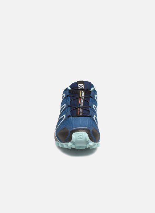 Chaussures de sport Salomon Speedcross 4 W Bleu vue portées chaussures