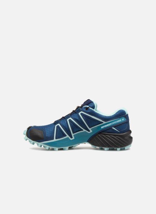 Chaussures de sport Salomon Speedcross 4 W Bleu vue face