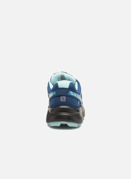 Chaussures de sport Salomon Speedcross 4 W Bleu vue droite