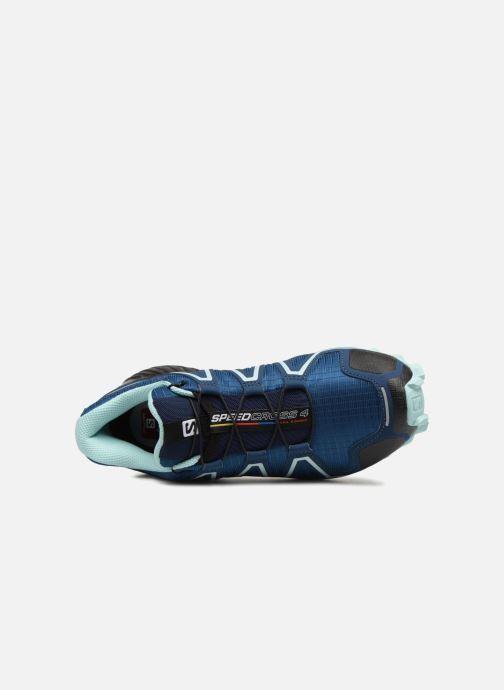 Chaussures de sport Salomon Speedcross 4 W Bleu vue gauche