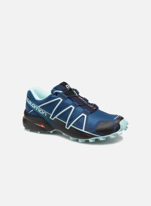 Chaussures de sport Salomon Speedcross 4 W Bleu vue détail/paire