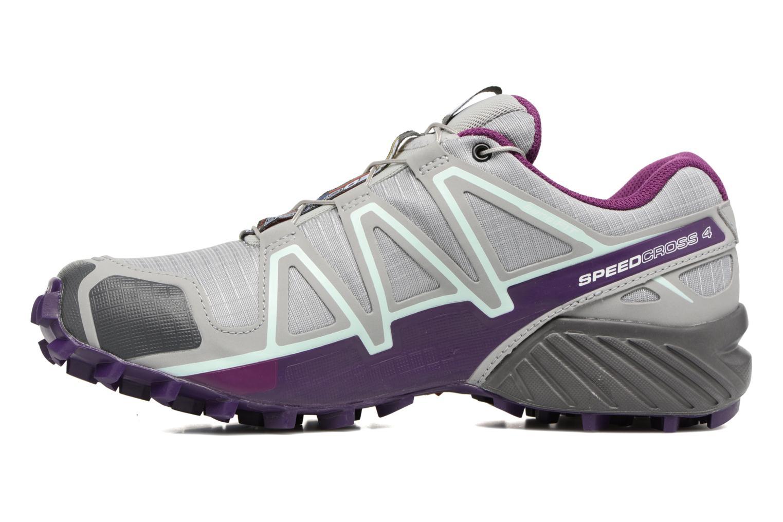 Chaussures de sport Salomon Speedcross 4 W Gris vue face