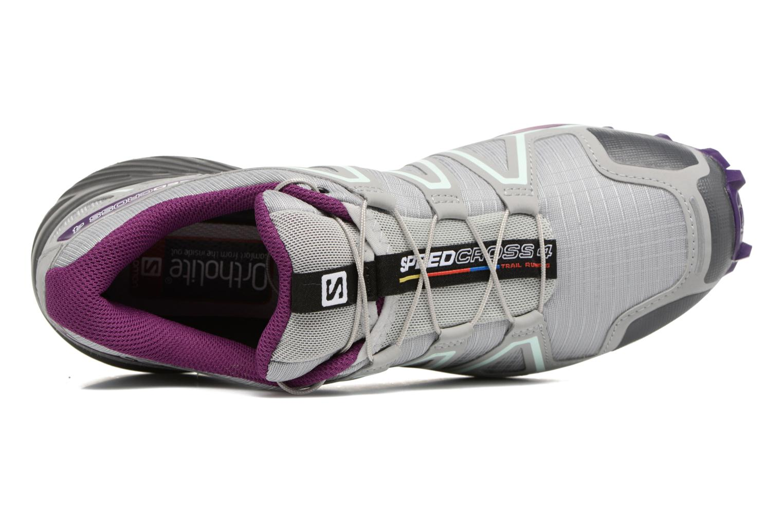 Chaussures de sport Salomon Speedcross 4 W Gris vue gauche