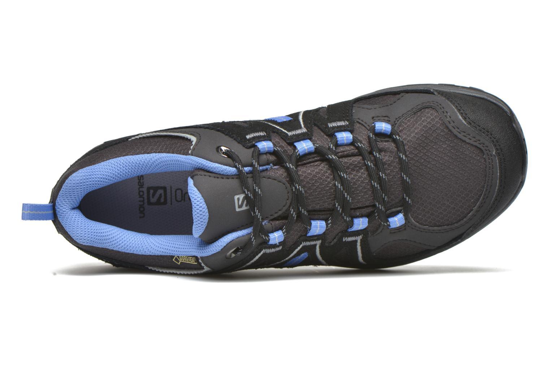 Chaussures de sport Salomon Ellipse 2 GTX W Gris vue gauche
